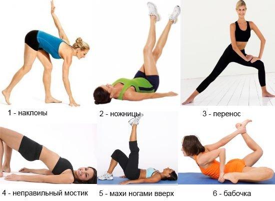 Как убрать ляхи на ногах за неделю упражнения в домашних условиях